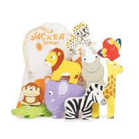 LE TOY VAN Africa Stacker & Cotton Bag