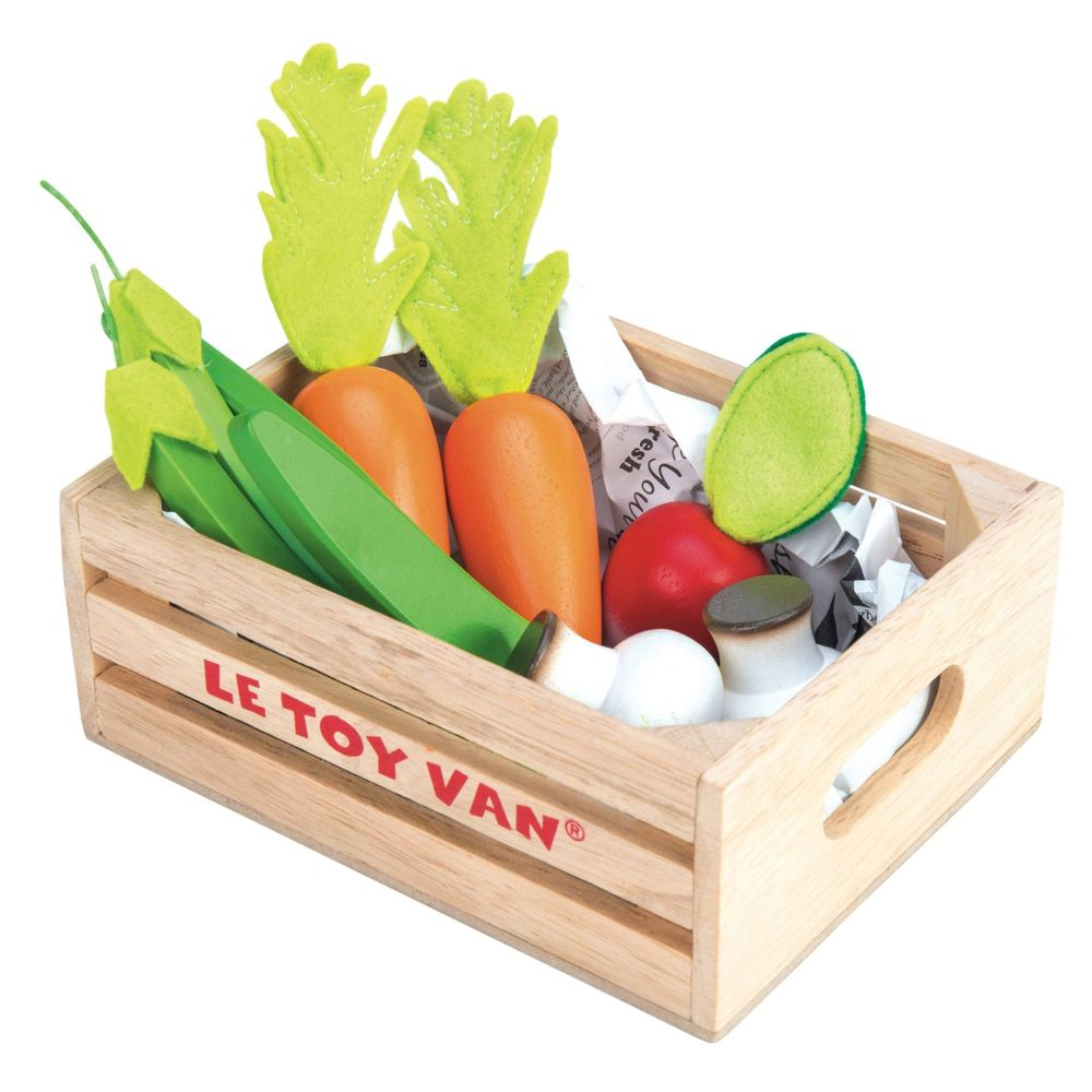 LE TOY VAN Vegetables '5 a Day' Crate