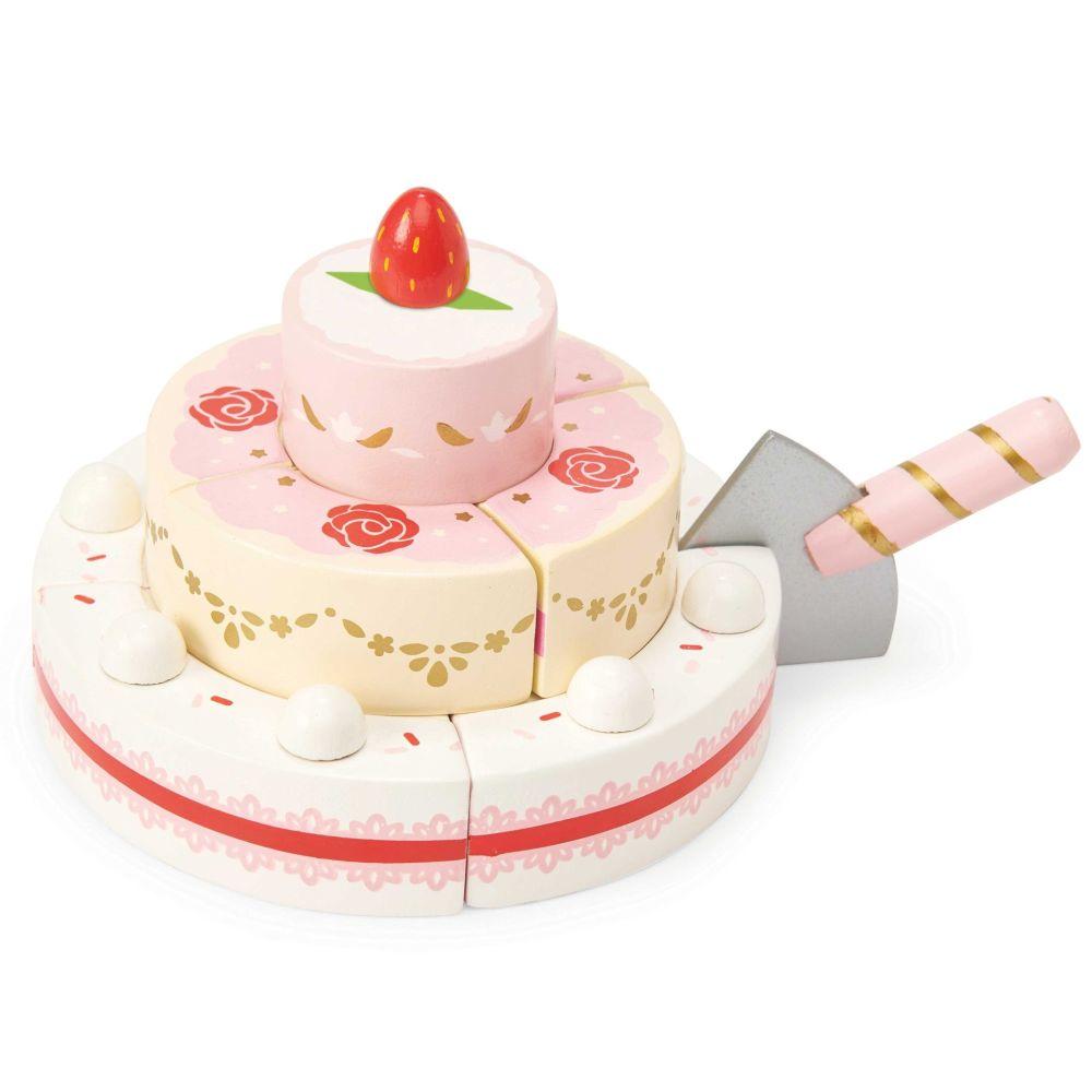 LE TOY VAN Strawberry Wedding Cake