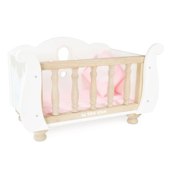LE TOY VAN Sleigh Doll Cot & Crib