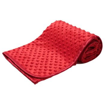 Soft Bubble Blanket - Red