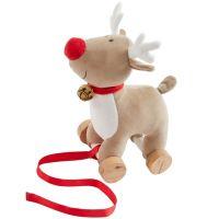 Bizzi Growin Christmas Rudolf Pull Along