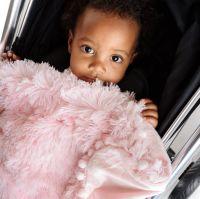 Bizzi Growin Koochicoo Fluffy Baby Blanket - Pink