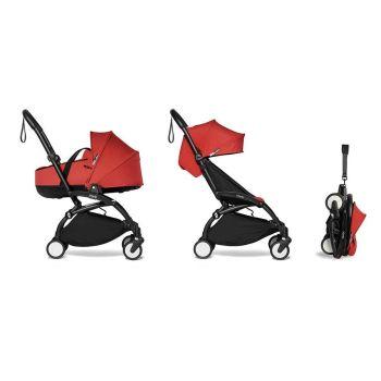 BABYZEN YOYO² Complete Stroller + Bassinet - Red