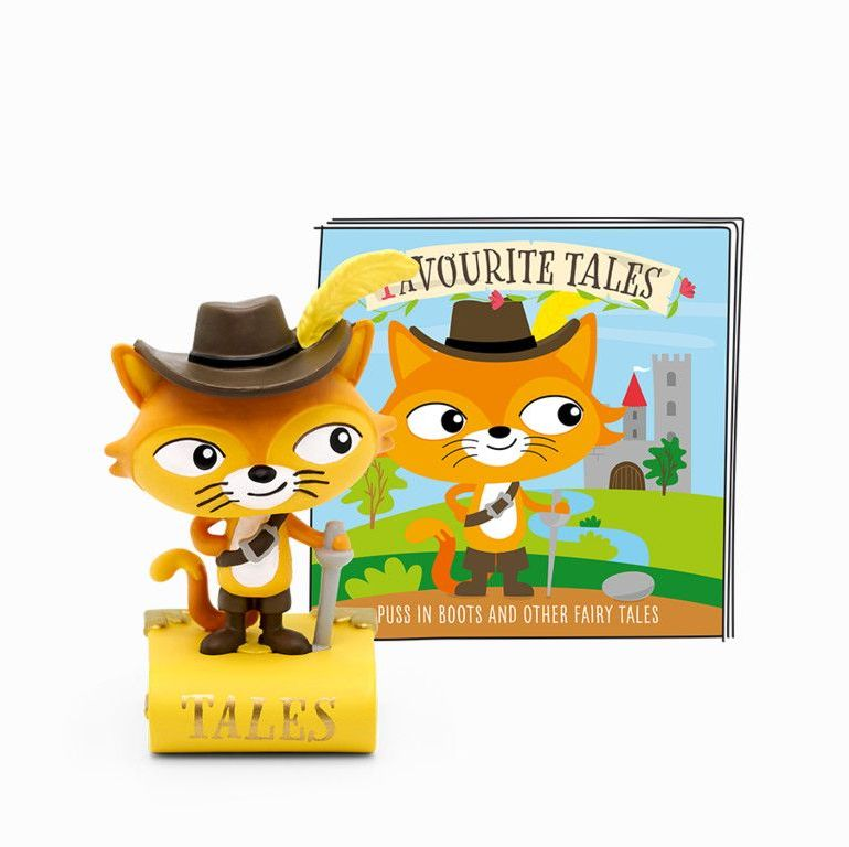 Tonies Favourite Tales - Puss in Boots & Fairy Tales Audio Character