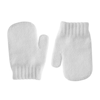 Condor Classic Soft Knit Mittens - White