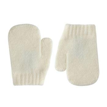 Condor Classic Soft Knit Mittens - Cream
