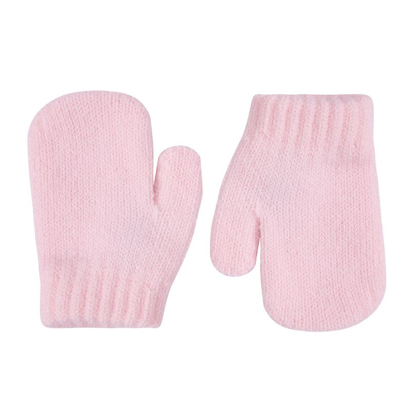 Condor Classic Soft Knit Mittens - Pink