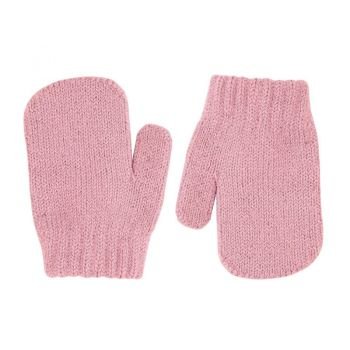 Condor Classic Soft Knit Mittens - Rose
