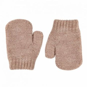 Condor Classic Soft Knit Mittens - Beige