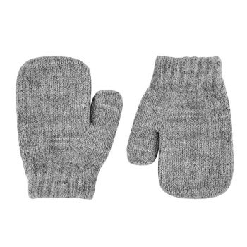 Condor Classic Soft Knit Mittens - Grey