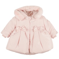 Mintini Peplum Winter Coat - Pink