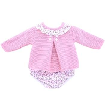 Valentina Floral Knitted Jumper & Jam Pants