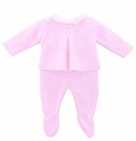 Madison Knitted Jumper & Leggings - Pink