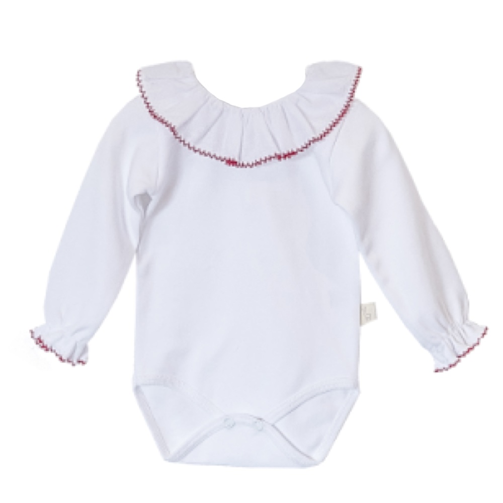 Baby Gi Frill Neck Body - Red