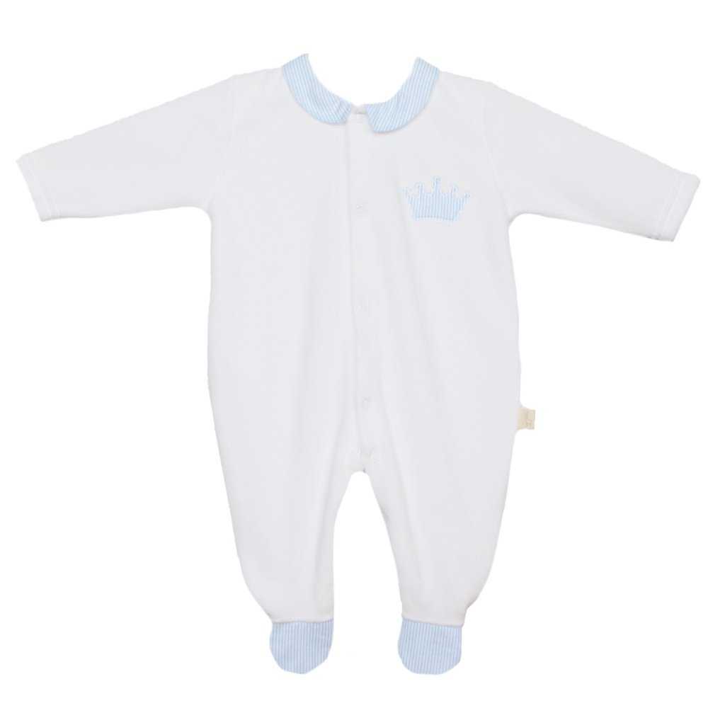 Baby Gi Little Crown All-In-One - Blue