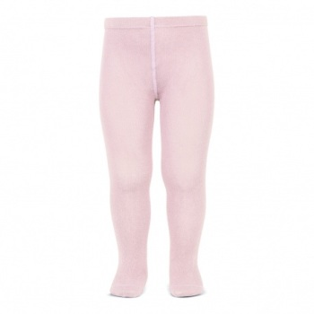 Cotton Rich Plain Tights - Pink