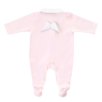 Baby Gi Angel Wings Babygrow - Pink