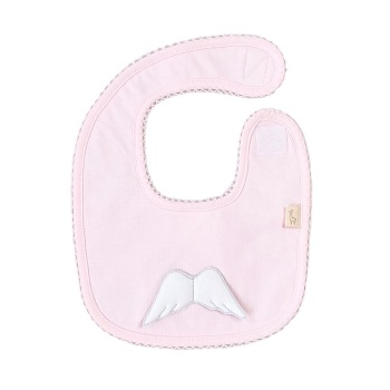 Baby Gi Angel Wings Bib - Pink