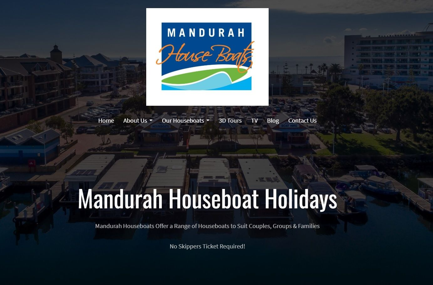 Citrus Marketing Mandurah - Mandurah Holidays Website Project