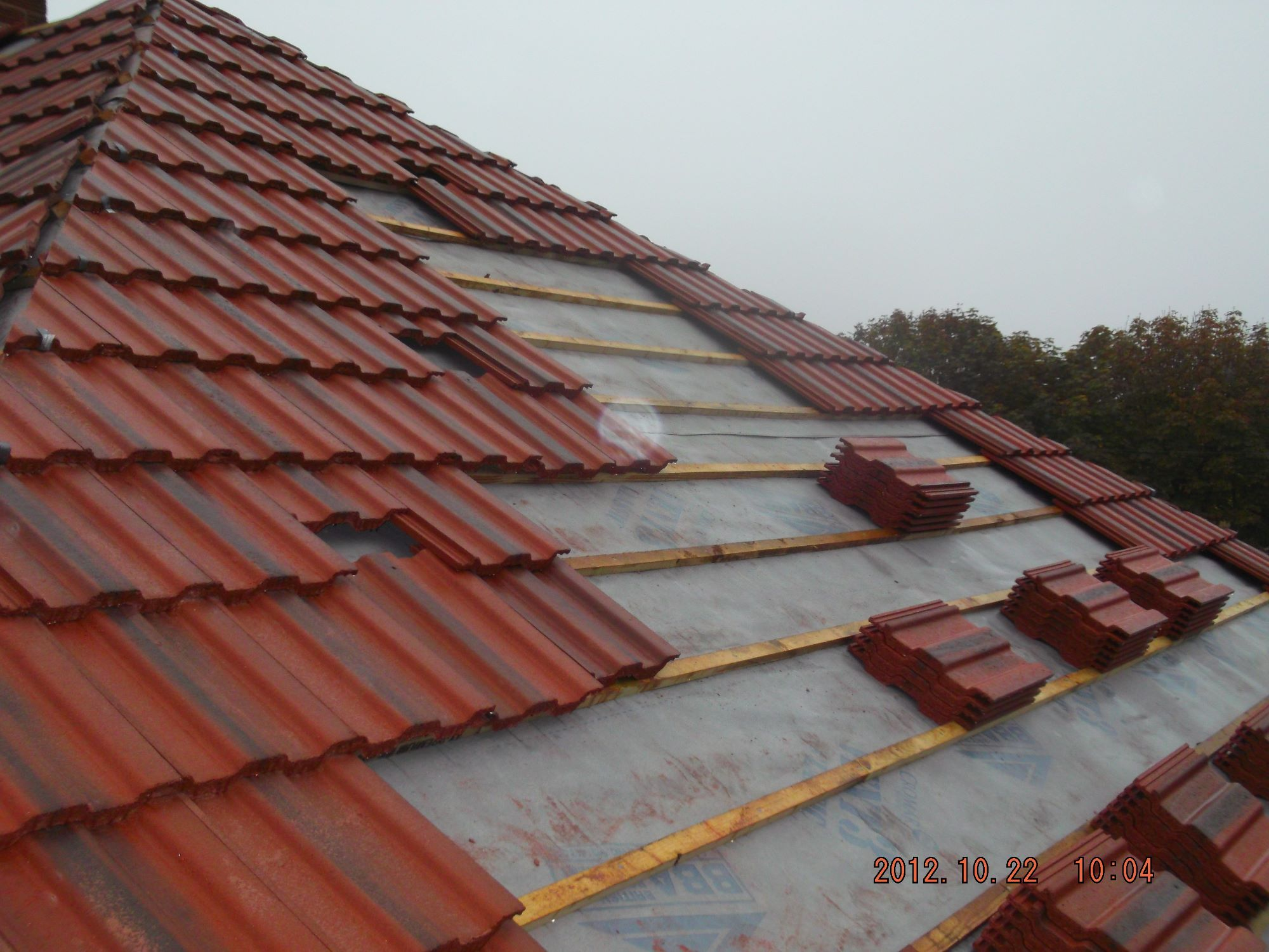 Timbrell Roofing Services New Roof Installations Trs