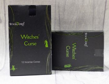 """Witches' curse"" Incense Cones"