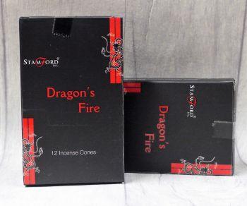"""""""Dragon's Fire"""" Incense Cones"""