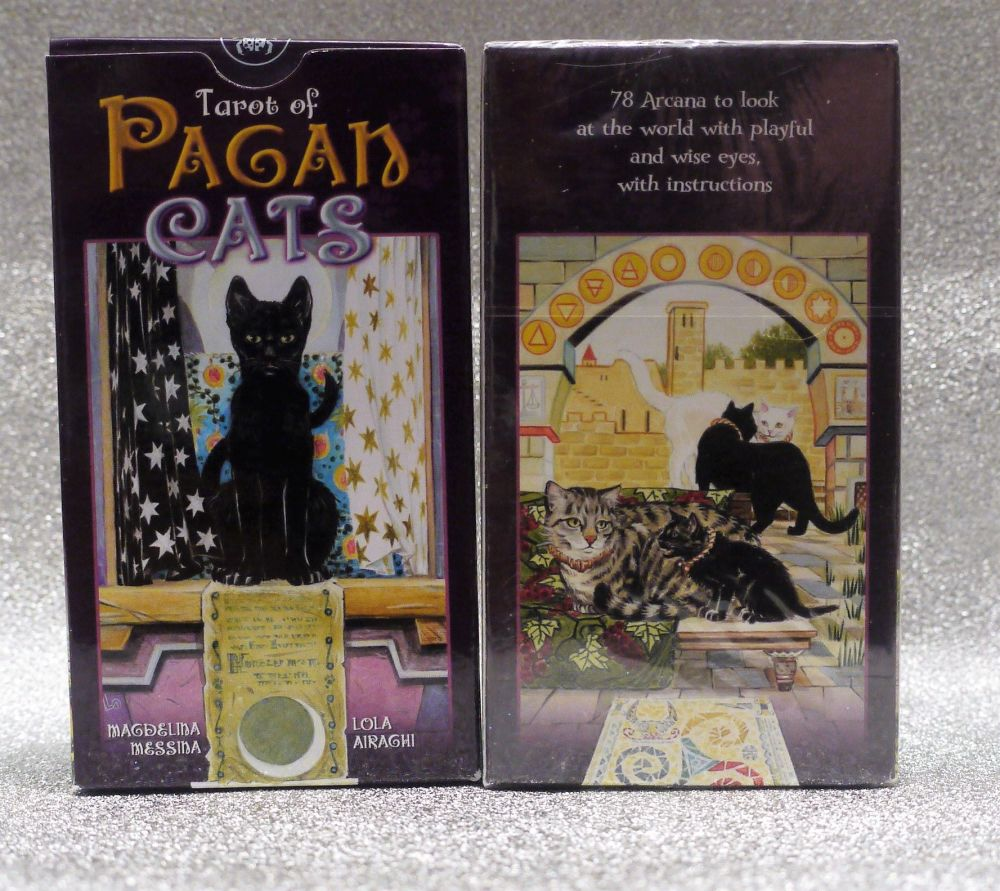 Pagan Cats Tarot Cards