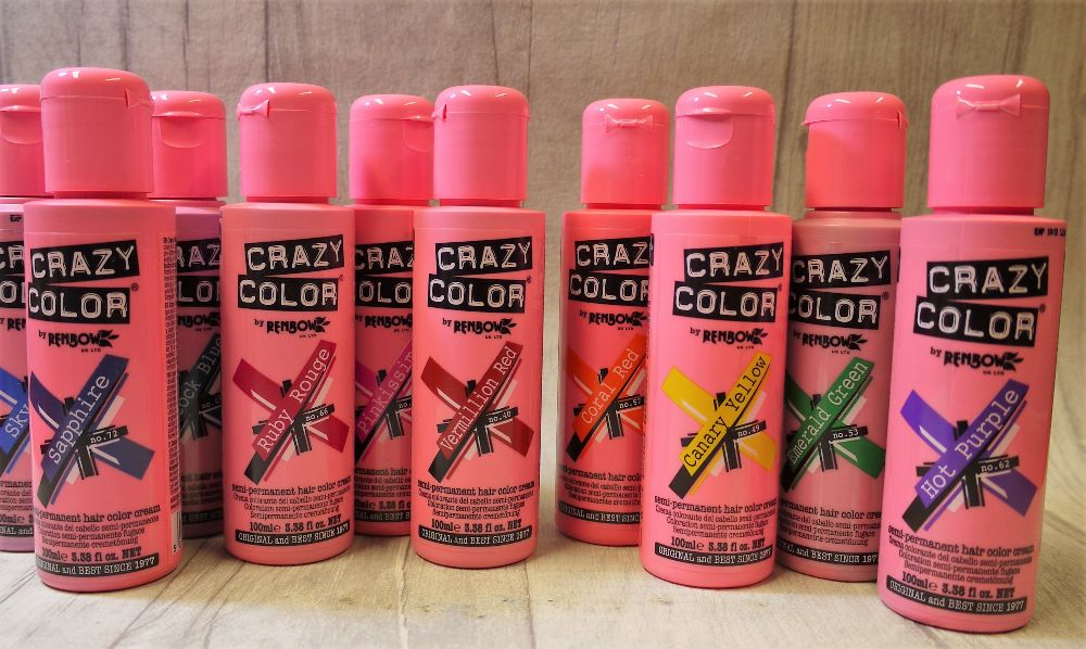 Crazy color semi perminant hair colour