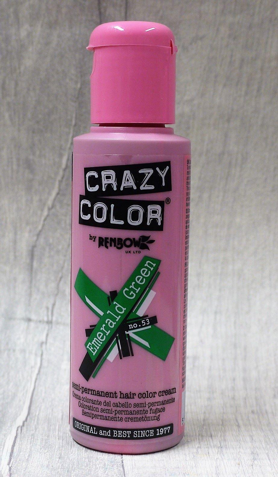 Emerald Green Crazy Color