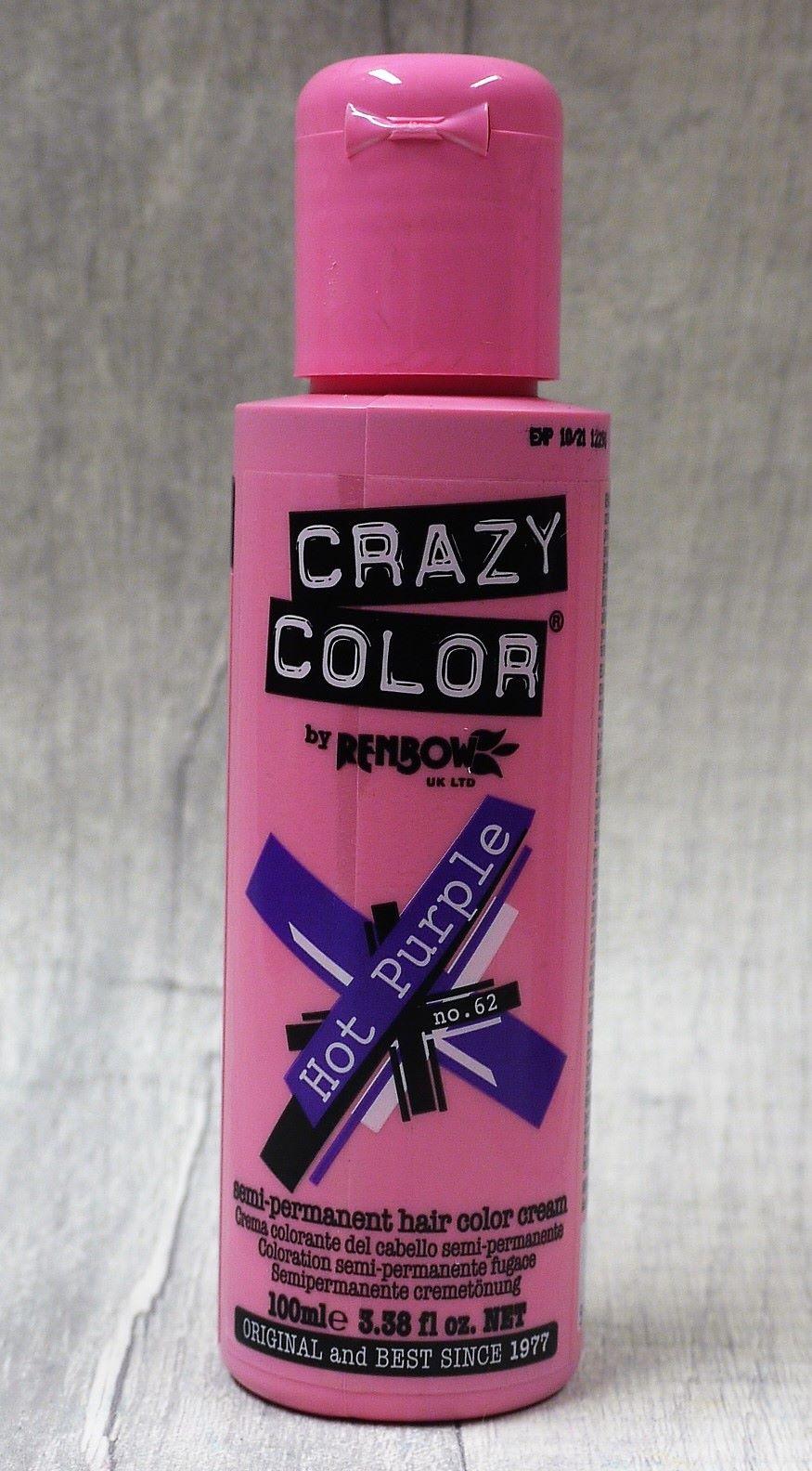 Hot Purple Crazy Color