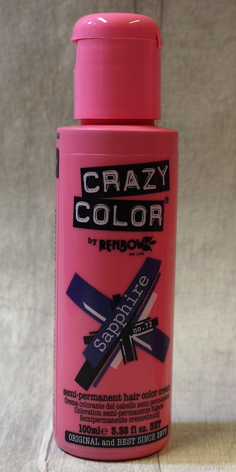 Sapphire Crazy Color