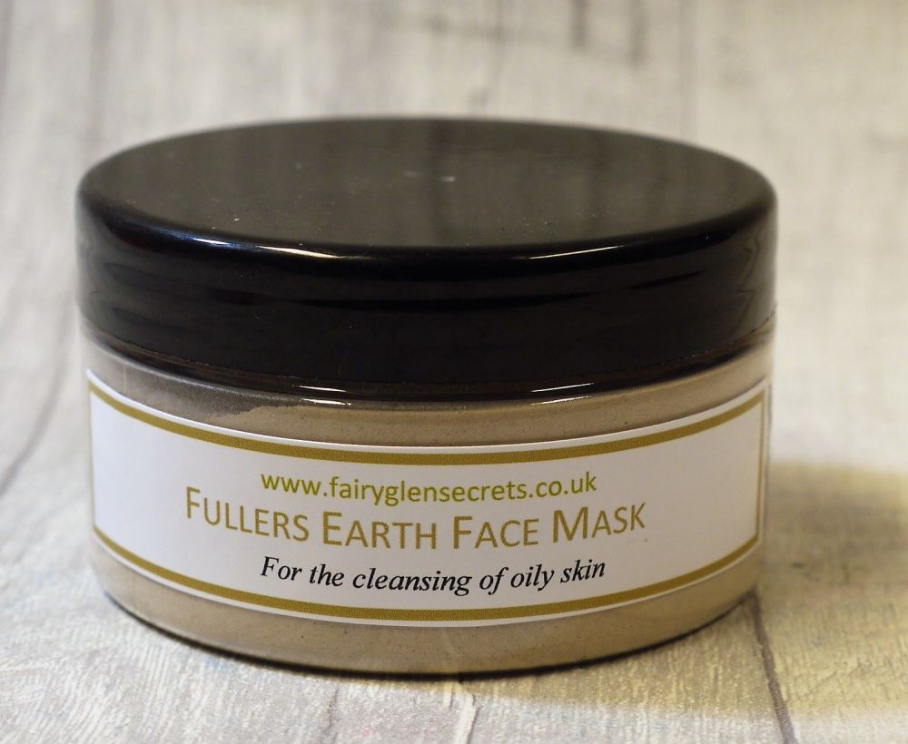 Fullers Earth Clay Face Mask