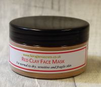 Clay Face Mask red