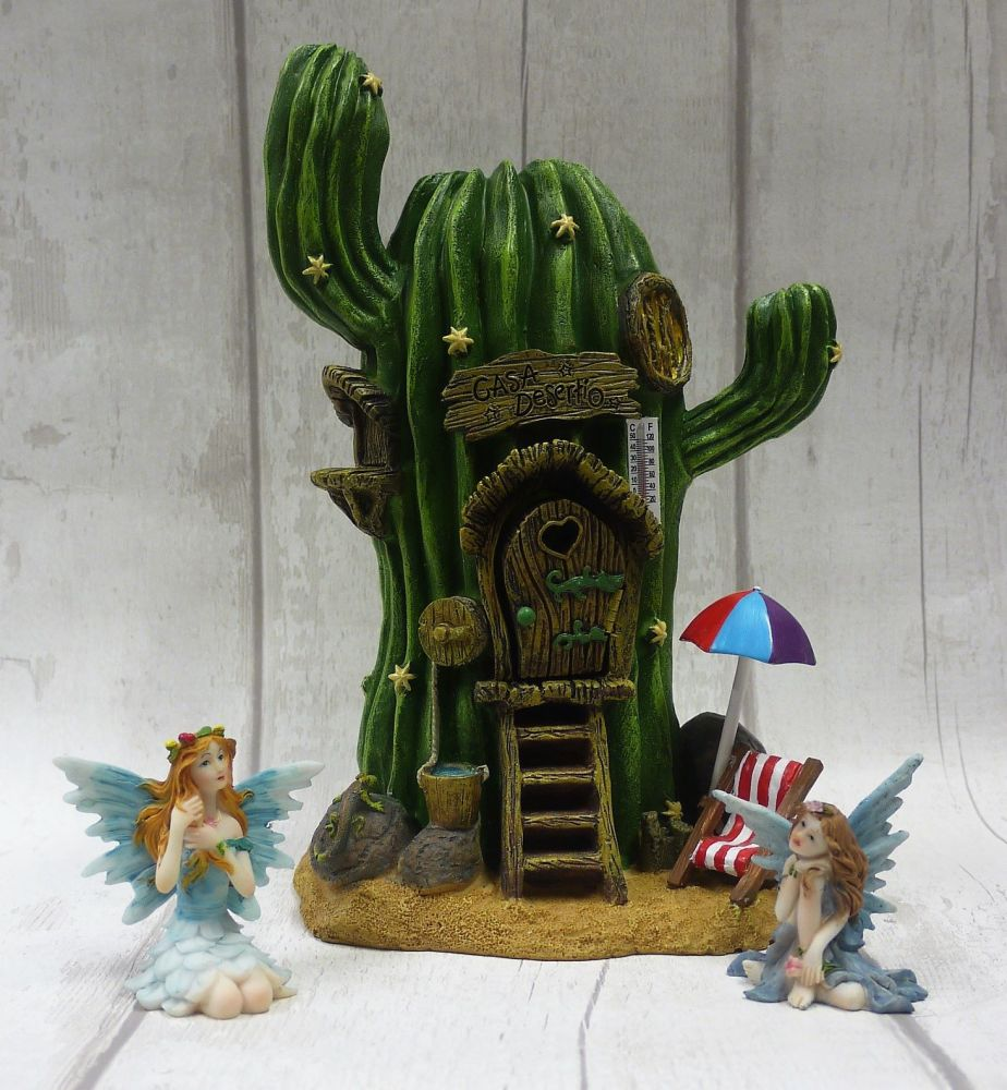 Cactus House Fairy Dwelling