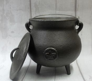 "Large ""Pot Belly"" Cauldron"