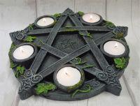 Vine Pentagram Tea light holder