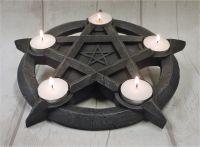 Pentagram Tea Light Holder