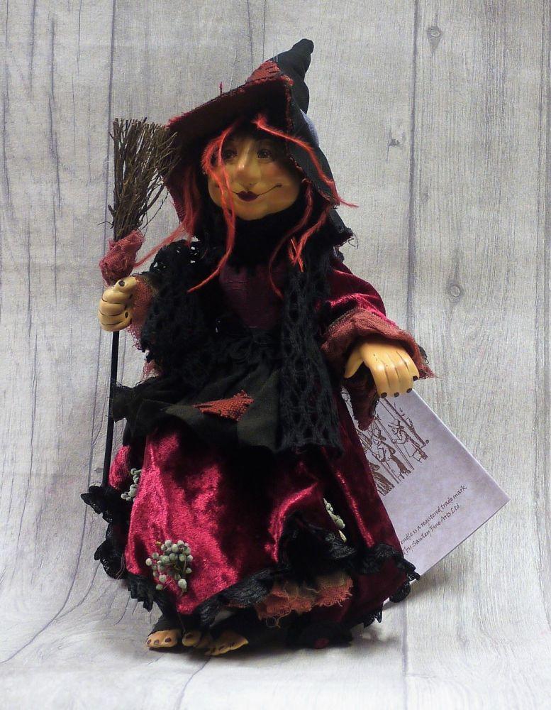 Rosemary burgandy 35cm