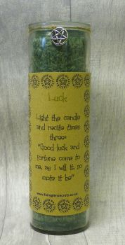 "Green ""Luck"" Spell Candle"