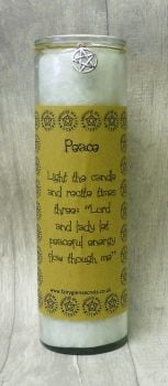 "White ""Peace"" Spell Candle"
