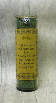 "Green ""Health"" Spell Candle"