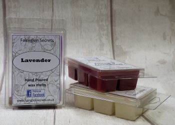"""lavender"" fragranced wax melts"