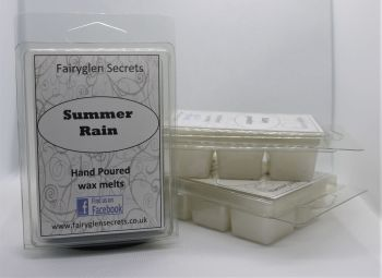 """Summer Rain"" fragranced wax melts"