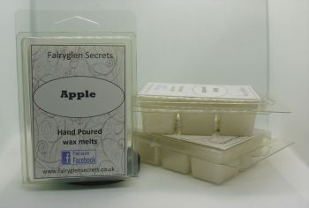 """Apple"" fragranced wax melts"