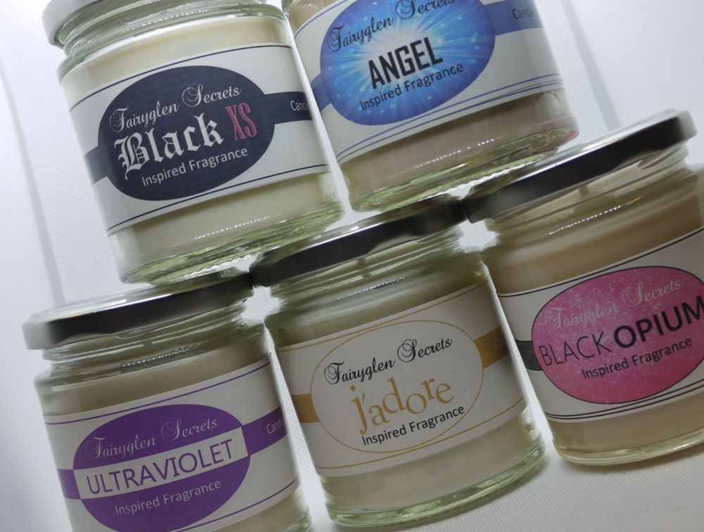 Designer Fragrance SOY WAX CANDLE JARS