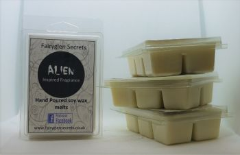 """Alien"" Inspired Fragrance Soy Wax melts"