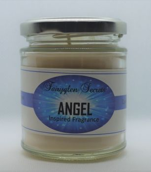 """Angel"" Inspired fragrance soy wax candle Jar"
