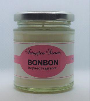 """Bon Bon"" Inspired Fragrance soy wax candle jar"