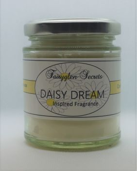"""Daisy"" Inspired Fragrance Soy Wax Candle Jar"